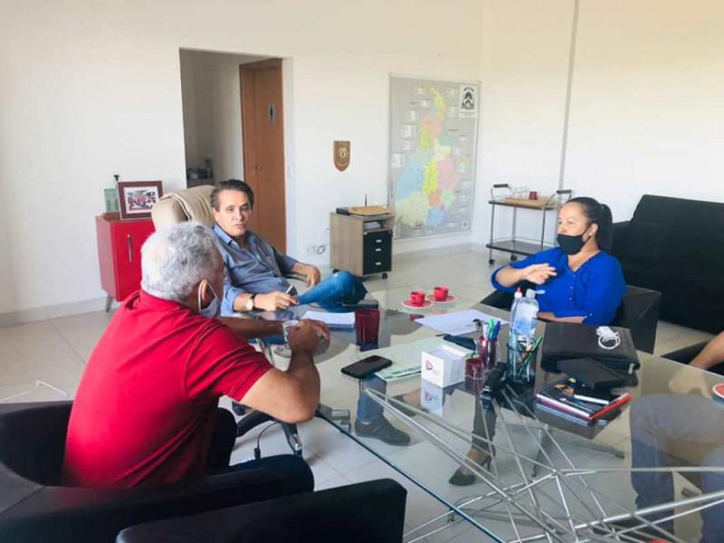 Dia 23 de Agosto de 2021 – A Prefeitura de Figueirópolis em  busca de  parcerias e recursos públicos.