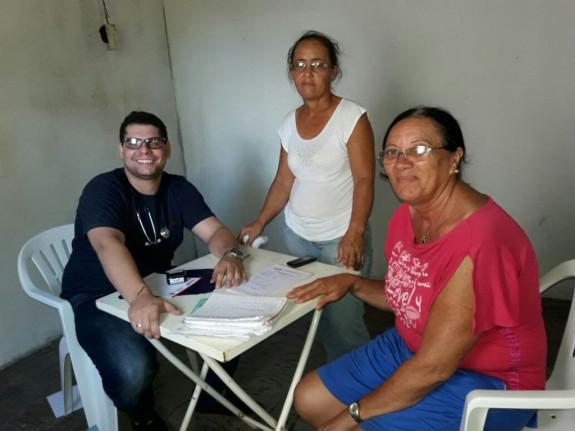 Prefeitura de Figueirópolis-TO. Ano 2017- Secretaria de Saúde -Atendimento do Programa de Saúde Familiar-Zona Rural-Cobertão.