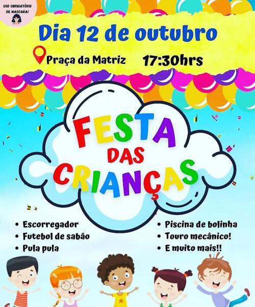 Dia das Crianças-12 de Outubro 2021- Prefeitura/ Secretaria Municipal de Assistência Social.