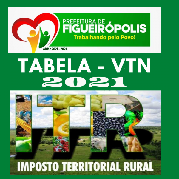 INFORMATIVO -VALOR DA TERRA NUA ANO 2021.FIGUEIRÓPOLIS-TO.