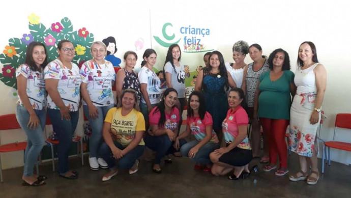 SEMAS Oferece Oficina para Gestantes do Programa Criança Feliz-MDS e CREAS.