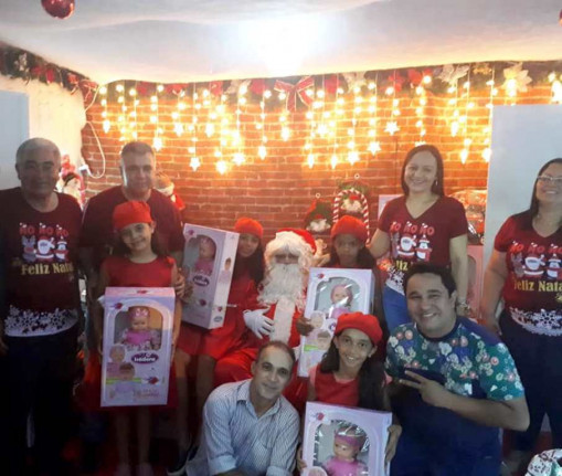 Prefeitura Municipal de Figueirópolis-TO-Entrega de Presentes de Natal- 20 de Dezembro de 2018,