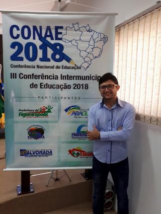 """III Conferência Intermunicipal de Educação 2018. Tema: """"A consolidação do Sistema Nacional de Educação-SNE e o plano Nacional de Educação-"""