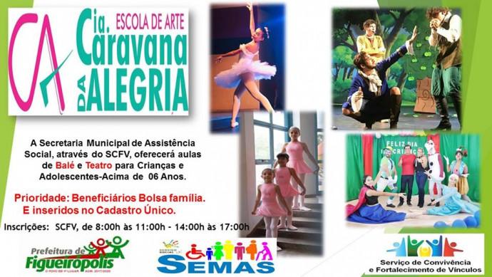 Ano 2019-Secretaria Municipal de Assistência Social-Aula de Dança para Crianças-Adolescentes-Idosos.
