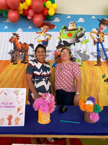 """No dia 15 de Outubro de 2021 – Comemoração do """"Dia das Crianças"""" na Rede Municipal de Ensino."""
