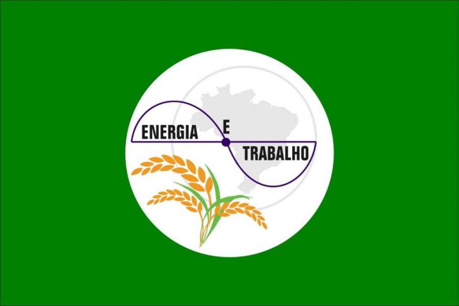 Bandeira do Município de Figueirópolis-TO.