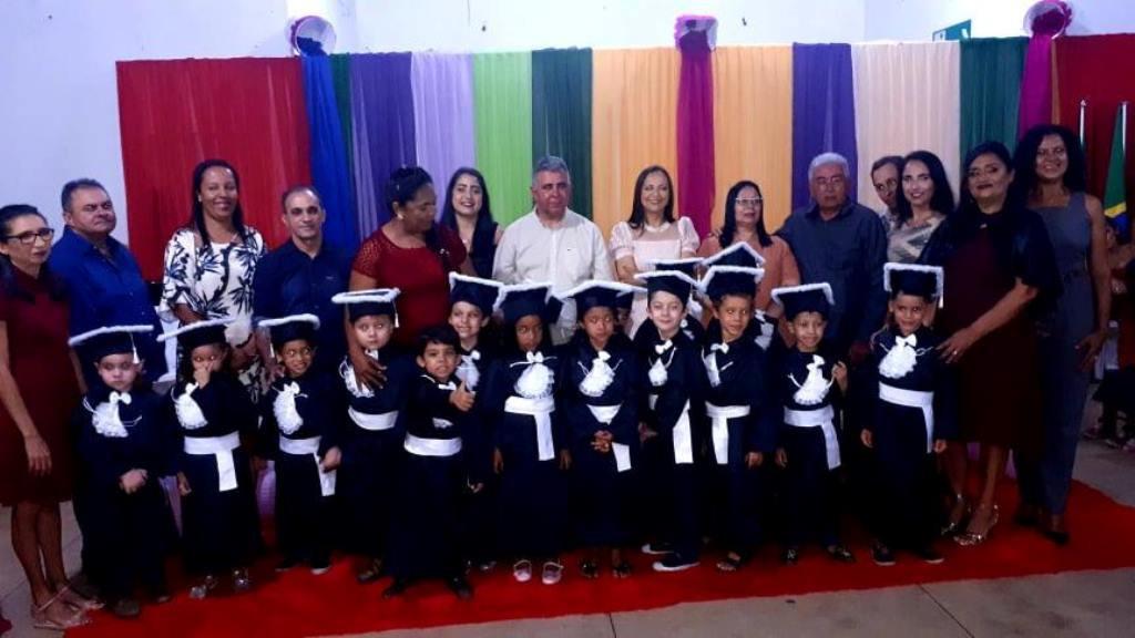 SOLENIDADE DA FORMATURA DOS ALUNOS DO PRÉ-ESCOLAR TURMA PROFESSORA IVONEIDE VIANA DA SILVA DANTAS/2019 CMEI - Maria da Glória Cabral Moreno.