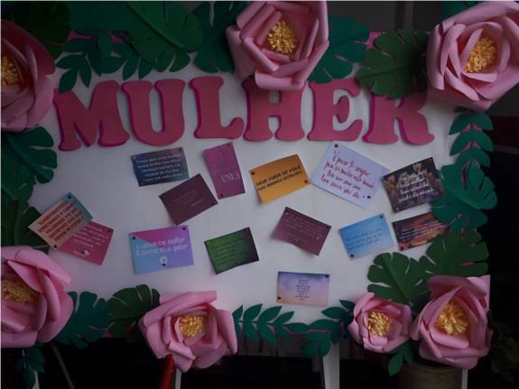 Dia Internacional da Mulher-Secretaria de Assistência Social.