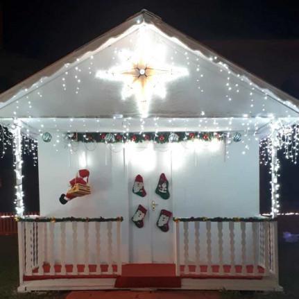 Prefeitura de Figueirópolis-Secretaria Municipal de Assistência Social- Inauguração da Casa do Papai Noel. Dia 01 de Dezembro 2018.