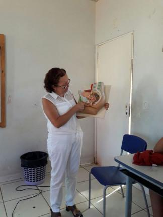 Secretaria Municipal de Saúde- Ano 2017- Figueirópolis-TO. Palestra sobre Anatomia e sexualidade.