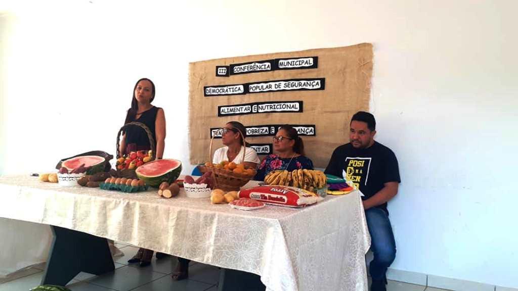 III Conferência Municipal Democrática Popular de Segurança Alimentar e Nutricional.