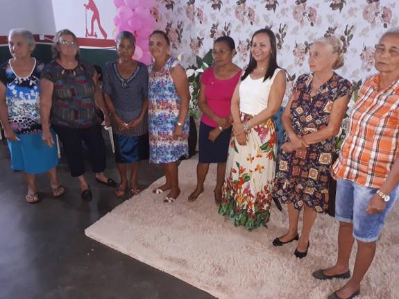 Dia 08 de Março de 2018- A Secretária de Assistência Social, Sraª Ruth Campos, com sua equipe polivalente, reuniu várias mulheres de nossa comunidade, no Serviço de Convivência e Fortalecimento de Vínculos-SCFV, para comemorarmos o Dia Internacional da Mulher.  Foram momentos de muita alegria e descontração, palavras de incentivo e esclarecimento, da importância que cada mulher tem, em relação a si mesma, e na sociedade em que vive. A equipe da Secretaria , em junção do CRAS-CREAS, uniram forças e realizaram um lindo trabalho.