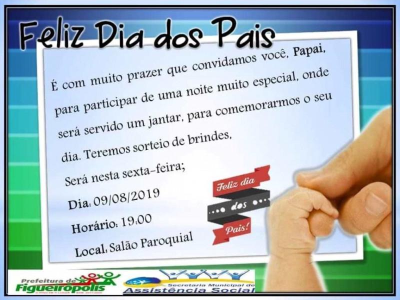 Comemoração do Dia dos Pais- Secretaria Municipal de  Assistência Social-Figueirópolis-TO.