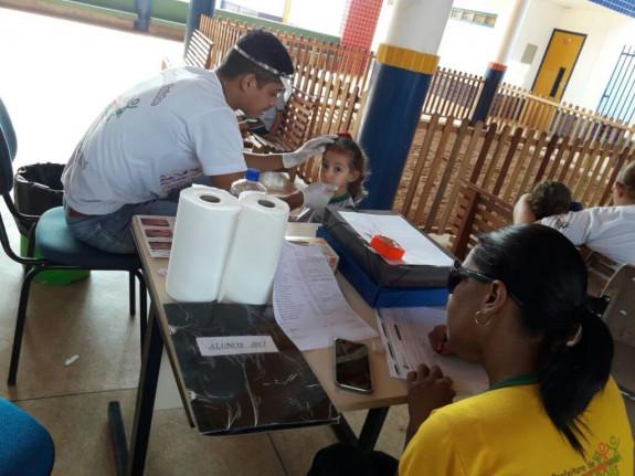 Secretaria Municipal de Saúde- Ano 2017- Prefeitura de Figueirópolis-TO. Equipes:  Unidade Básica de Saúde- UBS Campanha Tracoma -Escolar.
