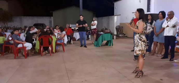 Prefeitura Municipal Figueirópolis- TO - Jantar em homenagem aos Idosos.