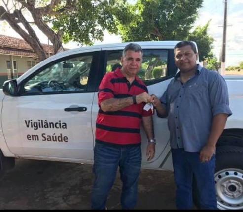 Aquisição de uma Camionete Mitsubishi-Prefeitura de Figueirópolis-TO. Secretaria Municipal de Saúde.